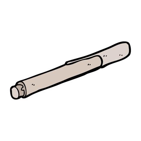 cartoon marker pen Stock Vector - 15799174