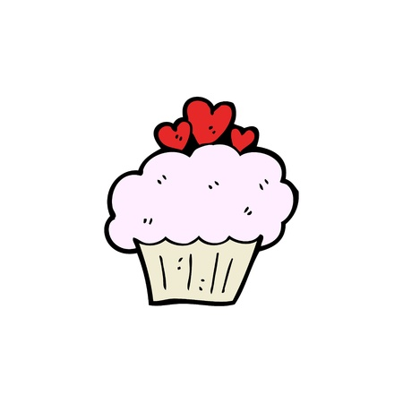 cartoon cupcake Stock Vector - 15789863