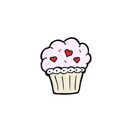 cartoon cupcake Stock Vector - 15789866