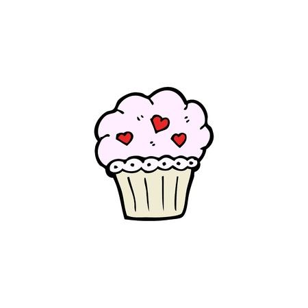 cartoon cupcake Stock Vector - 15789866