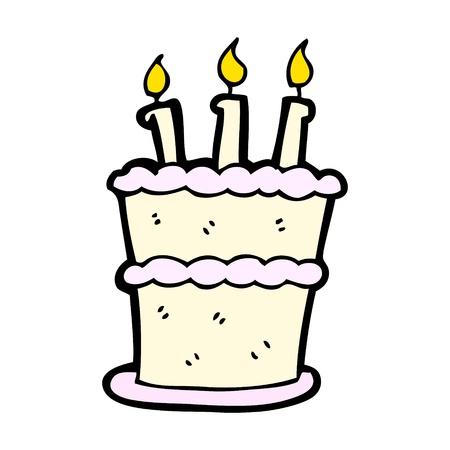 cartoon cake Stock Vector - 15789861