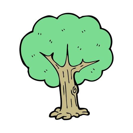 cartoon tree Stock Vector - 15789873