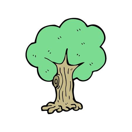 cartoon tree Stock Vector - 15789870
