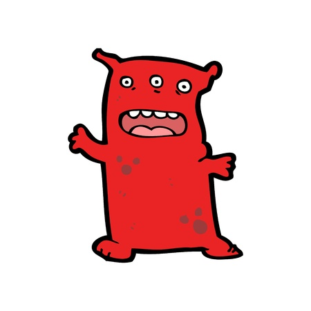 monster cartoon Stock Vector - 20239941