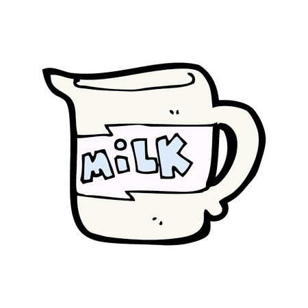 milk jug Stock Vector - 16967363