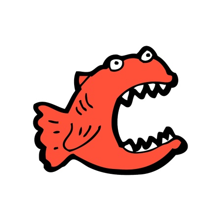 piranha Stock Vector - 16891750