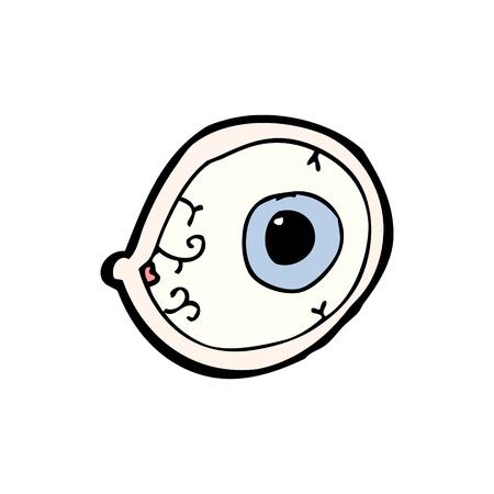 grosse: brut symbole de dessin anim� globe oculaire