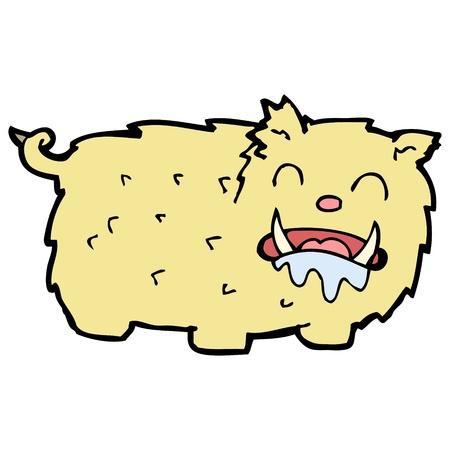 cartoon hungry beast Stock Vector - 16684128