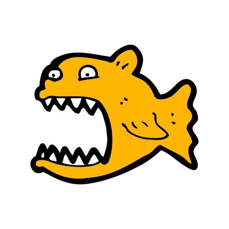piranha: cartoon piranha
