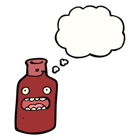 red wine bottle: dibujos animados botella de vino tinto