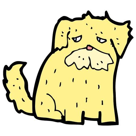 sad dog: cartoon of sad dog