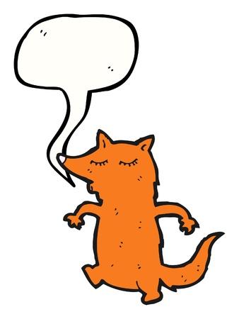 caption: cartoon character with caption box