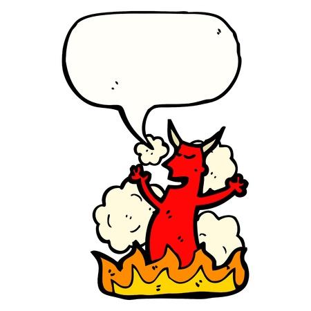 bijschrift: cartoon karakter met bijschrift box Stock Illustratie
