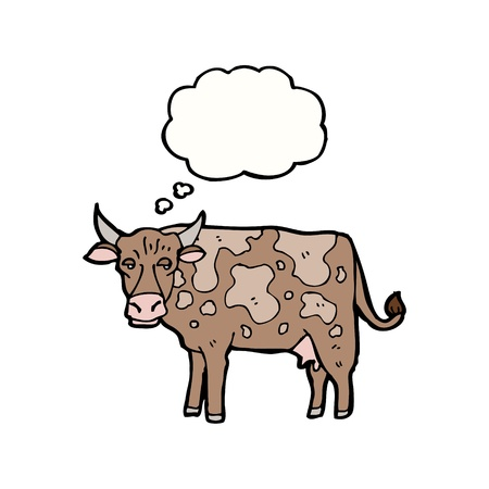 cute cartoon cow Stock Vector - 16164929