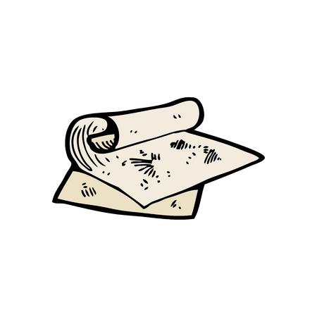 scrape: cartoon scrape papers