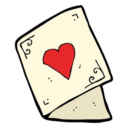 valentine s card Stock Vector - 16141745