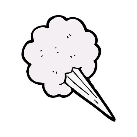 helado caricatura: hielo crema cono de dibujos animados Vectores