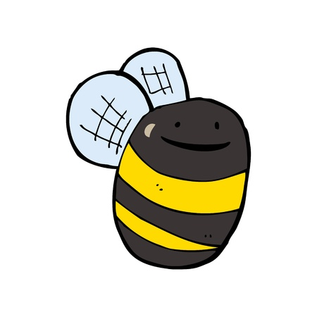 cartoon bumble bee Vector