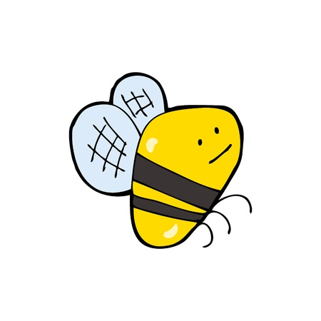 cartoon bumble bee Illustration