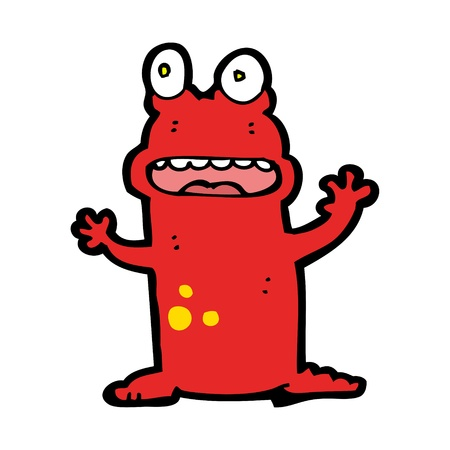 cartoon creature Stock Vector - 16121467