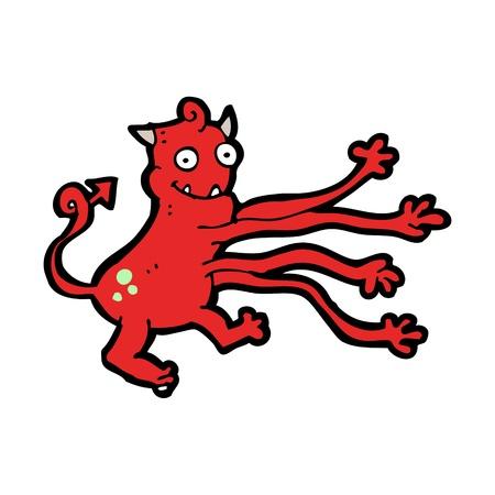 Cartoon creature Stock Vector - 16120637