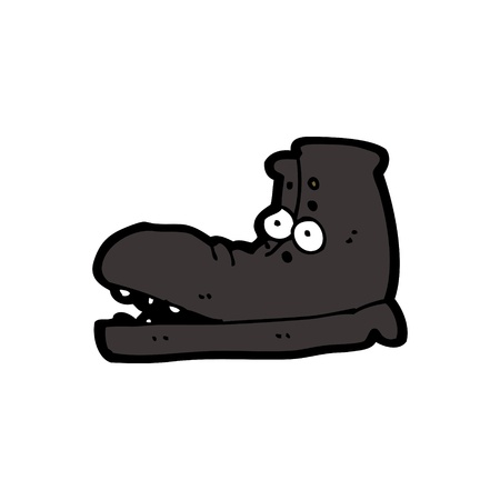 cartoon shoe