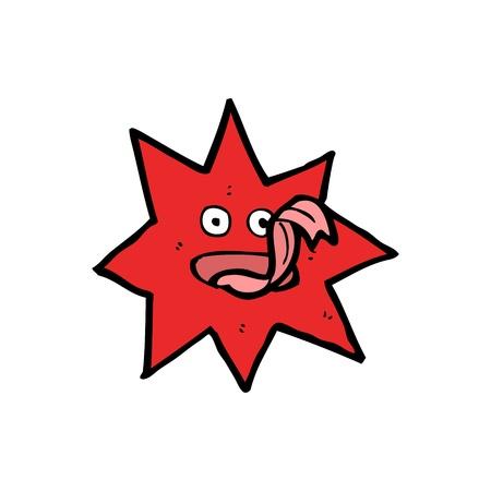 estrella caricatura: dibujos animados estrella