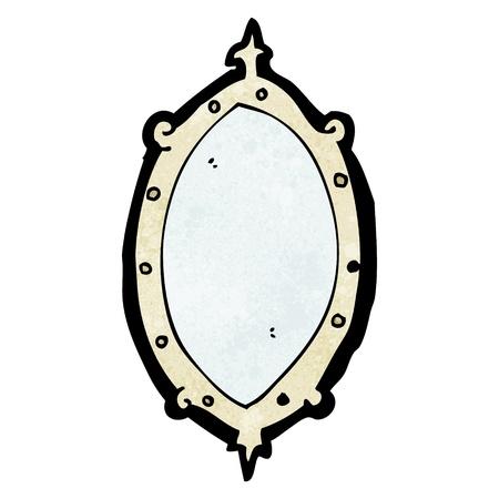 De dibujos animados retro con textura. Aislado en blanco. Foto de archivo - 21135526