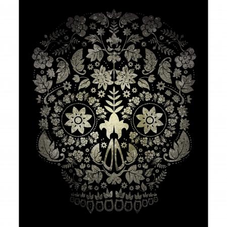 Day of the Dead Sugar Skull  Illustration Vector
