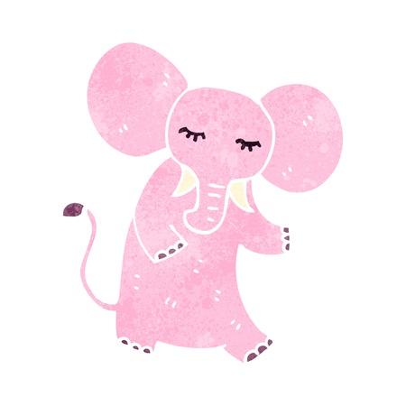Cute cartoon elephant