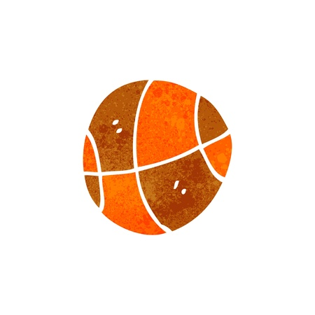 Cartoon basketball Ilustrace