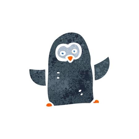 Cartoon penguin 일러스트