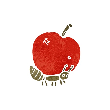 cartoon ant carrying food Vector