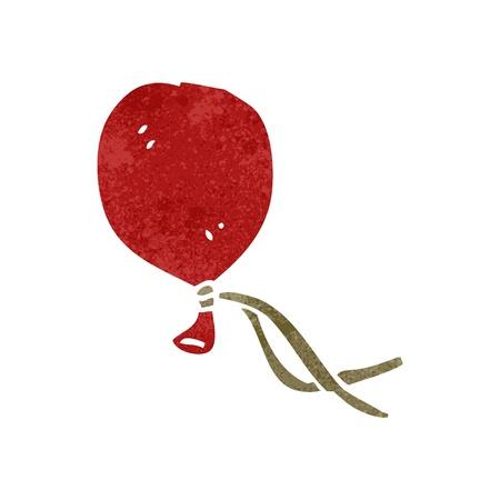 retro cartoon balloon floating Stock Vector - 22140753