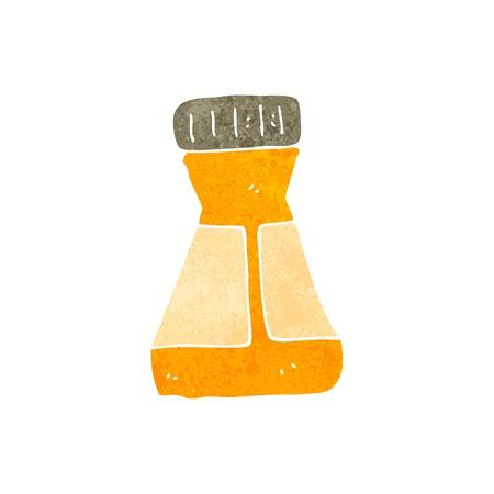 mustard: retro cartoon mustard pot
