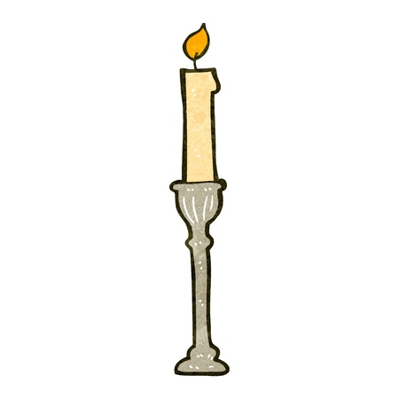 retro cartoon candlestick Stock Vector - 22156106