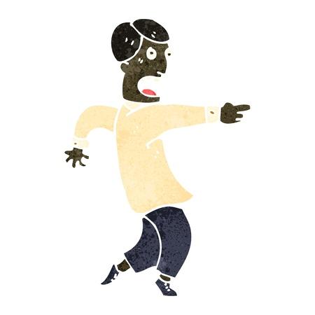 accuser: Dessin Illustration