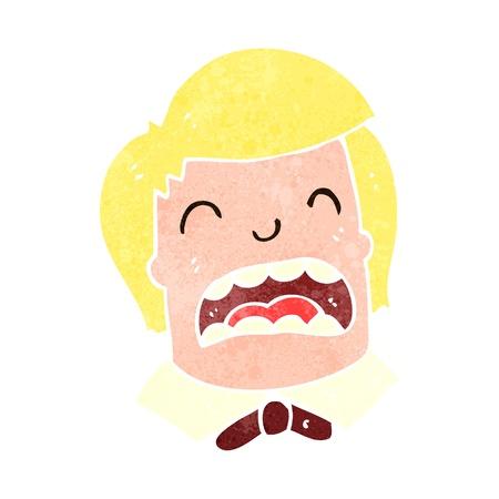 retro cartoon crying boy Stock Vector - 22188339