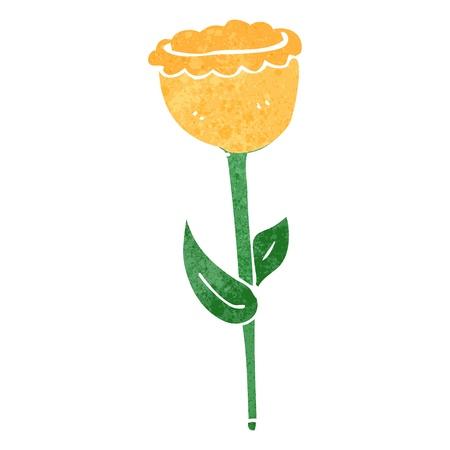 retro cartoon flower Stock Vector - 22188347