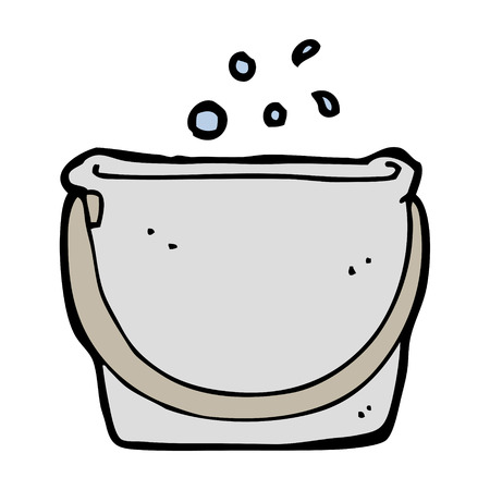 cartoon bucket Illustration