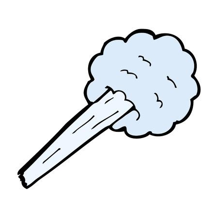 gust: cartoon gust of wind