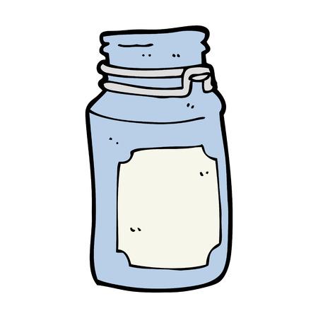 cartoon kitchen: cartoon kitchen jar