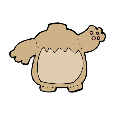 cartoon teddy bear body (mix and match cartoons or add own photo) Vector