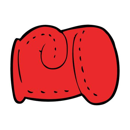 boxing glove: cartoon boxing glove