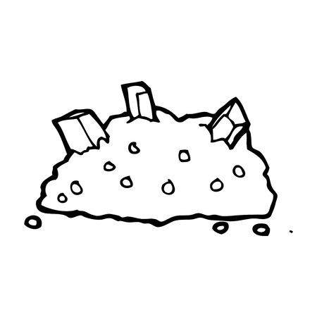 cartoon pile of gole