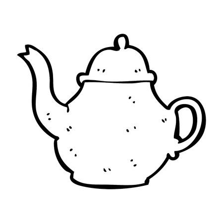 Cartoon Teapot Royalty Free Cliparts Vectors And Stock