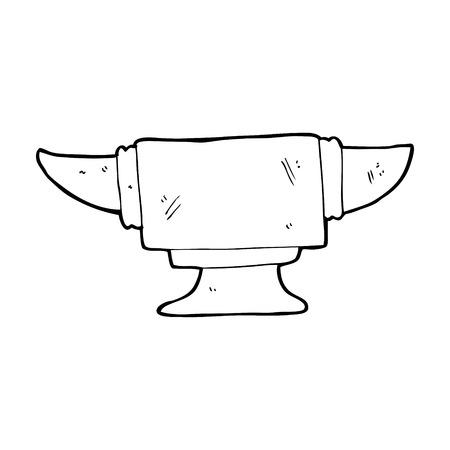 cartoon blacksmith anvil Stock Vector - 25016860