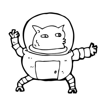 cartoon alien Stock Vector - 25014934