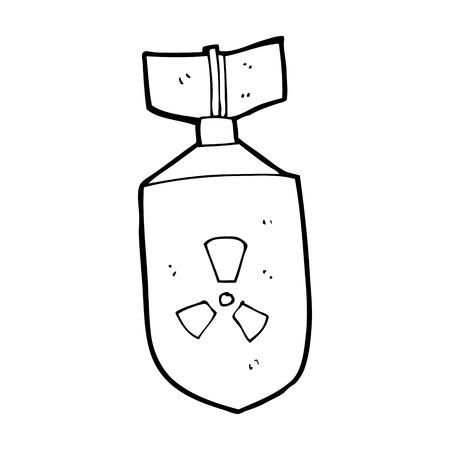 nuclear bomb: bomba nuclear de dibujos animados