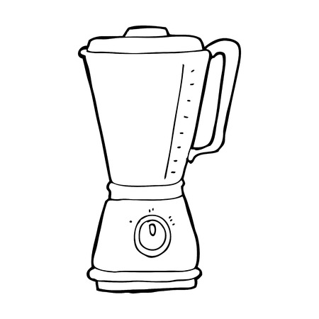 cartoon kitchen blender